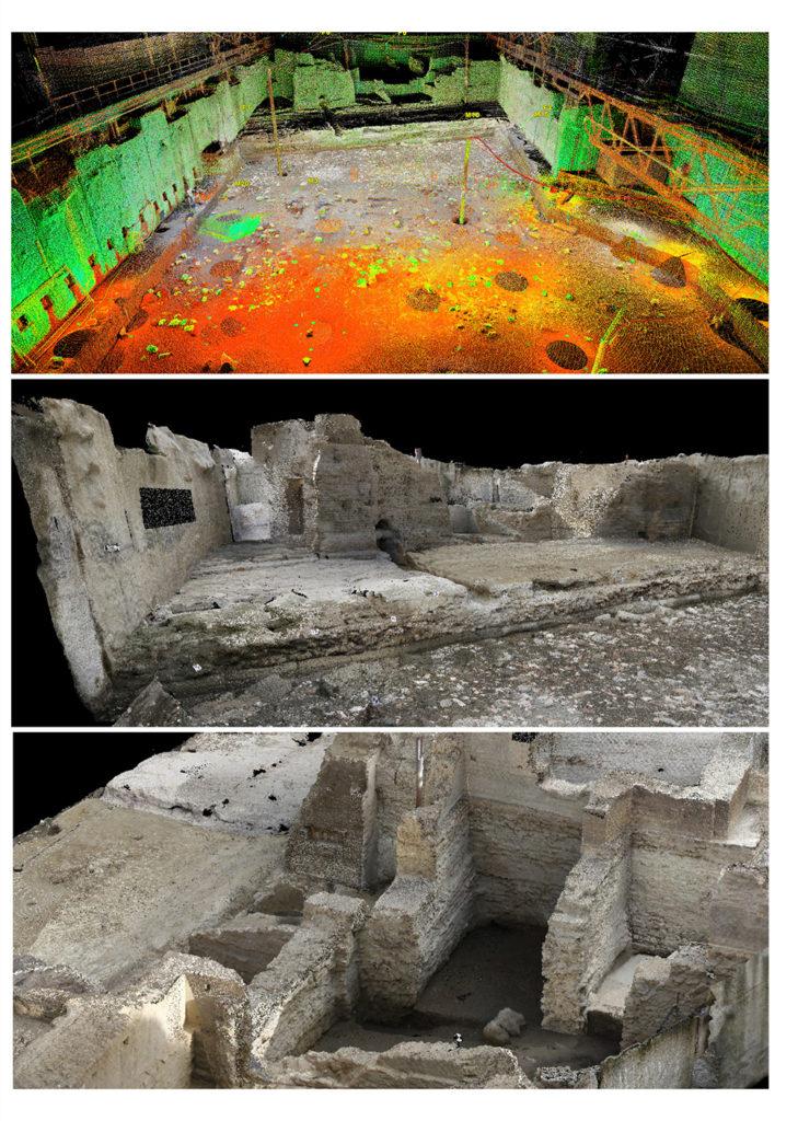 arcaeological surveys_napoli underground_mantovalab_politecnico di milano