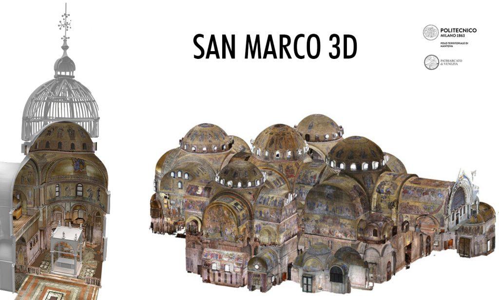 3D san marco venezia hesutech mantovalab geomatica