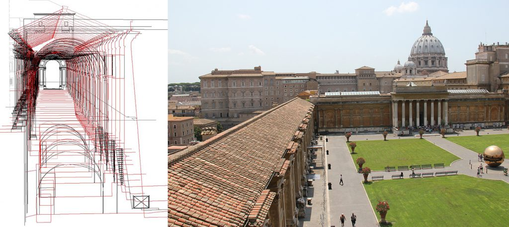 Galleria_Chiaramonti_Vaticano_deformation analysis_sections_hesutech mantovalab