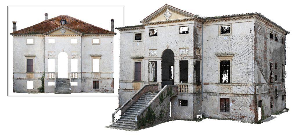 Palladio_Villa_Forni_Cerato_Rilievi_Hesutech_laser scanner data 3d