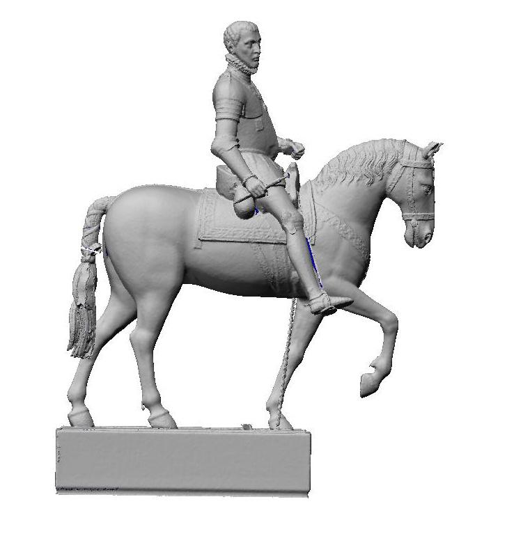 3d model Statua_equestre_vespasiano_gonzaga_sabbioneta_hesutech