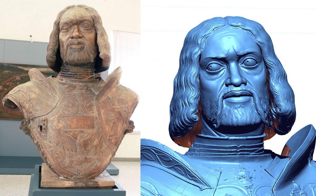3d survey cultural heritage francesco II gonzaga mantova -mantovalab